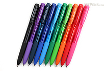 Uni-ball Signo RT1 UMN-155 Gel Pen - 0.38 mm - 10 Color Bundle - JETPENS UNI UMN15538 BUNDLE