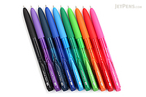 Uni-ball Signo RT1 UMN-155 Gel Pen - 0.28 mm - 10 Color Bundle - JETPENS UNI UMN15528 BUNDLE