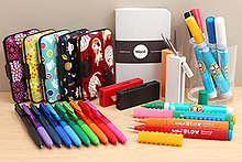 New Products: Signo RT1 Gel Pens, Artblox Mechanical Pencils, Scissors + Cutter Tool, Paint Markers, Word Notebooks, Card Cases, and More!