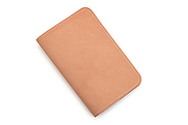 Word Notebooks Leather Notebook Sleeve - Tan - WORD NOTEBOOKS W-NBCOVERTAN