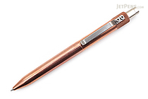 Karas Kustoms Retrakt Pen - Copper - 0.5 mm - Black Ink - KARAS KK-5041-COPPER