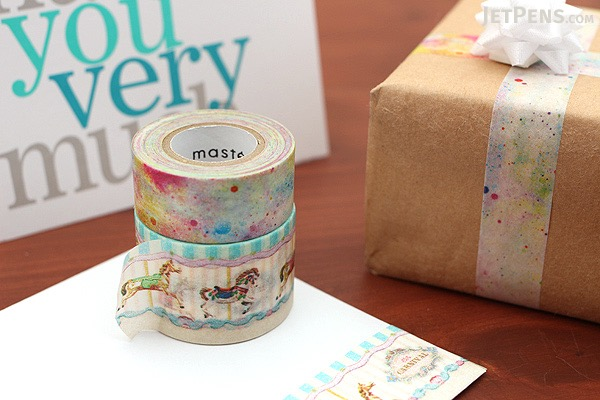 Mark's Maste Washi Tape - Multi - City 3 - Pack of 3 - MARK'S MST-MKT103-A