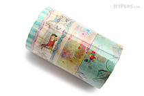 Mark's Maste Washi Tape - Multi - City 2 - Pack of 3 - MARK'S MST-MKT102-A