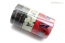 Mark's Maste Washi Tape - Multi - City 4 - Pack of 3 - MARK'S MST-MKT104-A