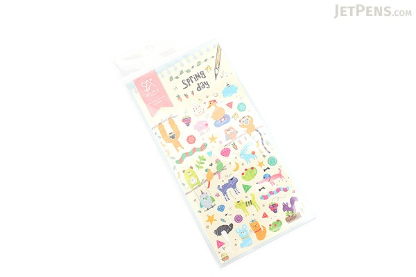 Suatelier Sonia Stickers - Spring Day - BC 2001