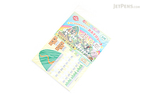 Iwako Play Sheet Paper Model Kit - Animal Farm - IWAKO ER-DAI001