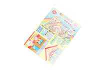 Iwako Play Sheet Paper Model Kit - Shops - IWAKO ER-DAI002