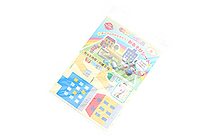 Iwako Play Sheet Paper Model Kit - Town - IWAKO ER-DAI003