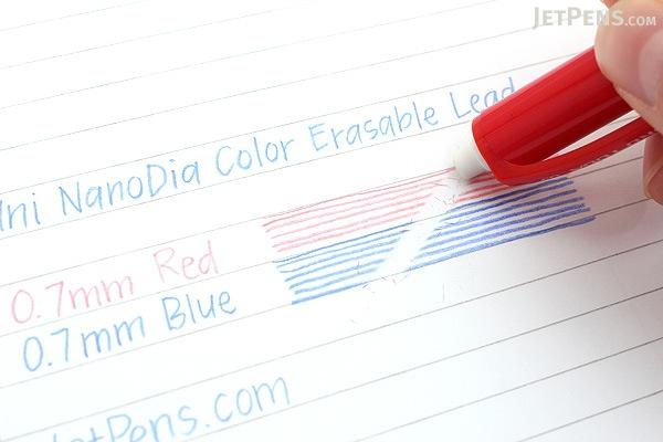 Uni NanoDia Color Erasable Lead - 0.7 mm - Blue - UNI U07202NDC.33