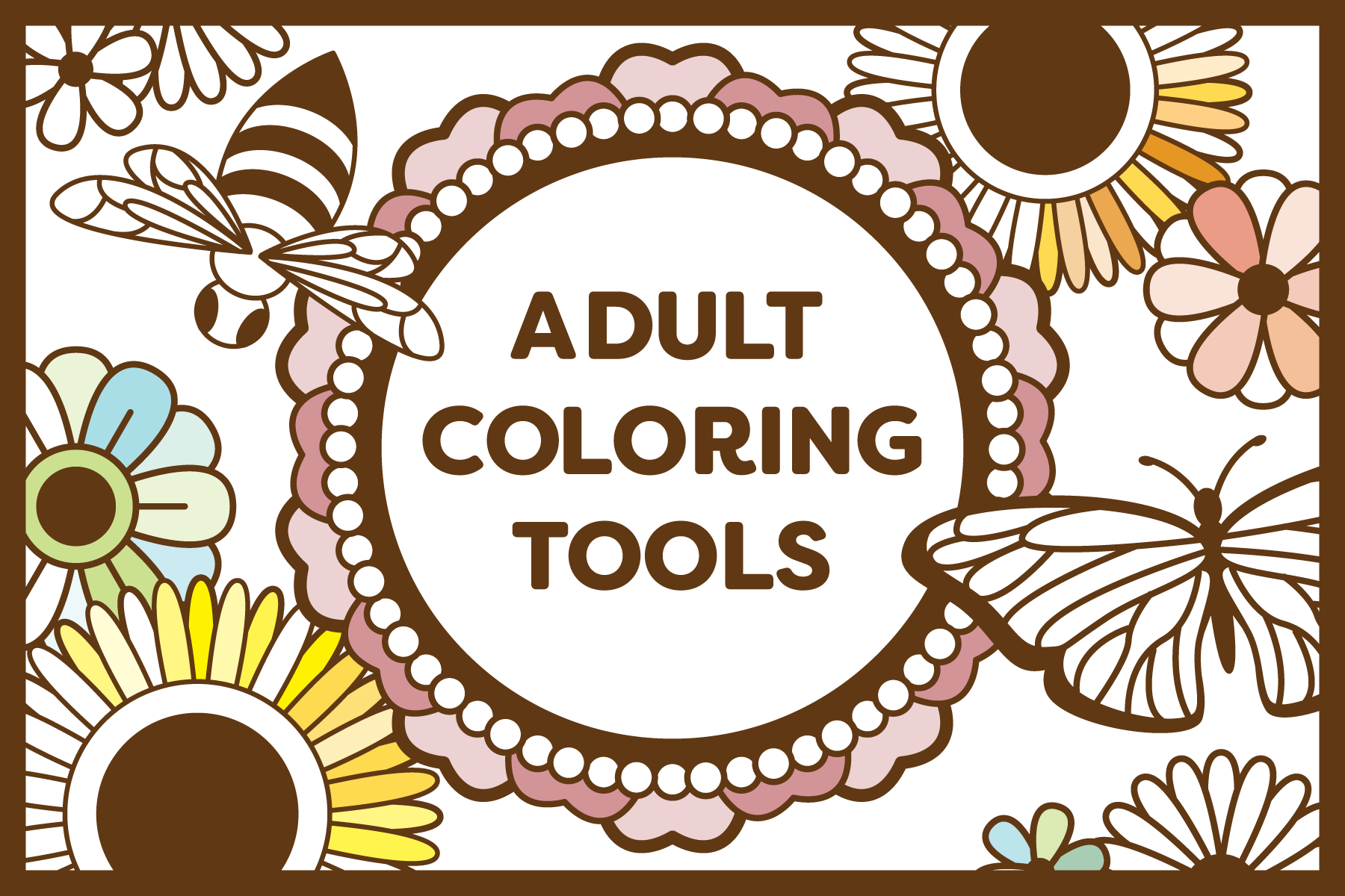 Adult Coloring Tools