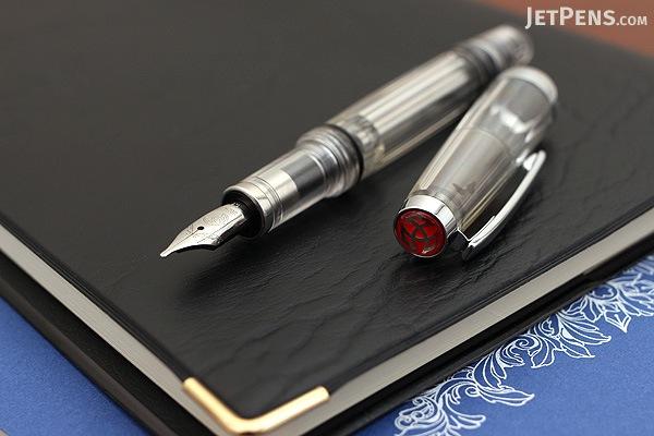 TWSBI Vac Mini Clear Fountain Pen - Stub 1.1 mm Nib - TWSBI M7444420