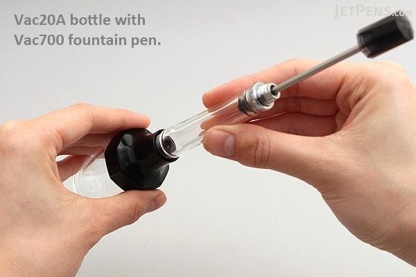 TWSBI Vac20A Ink Bottle - 20 ml - Red - TWSBI M7444540