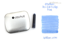Ohto Hutt Blue Ink - 14 Cartridges - OTTO HUTT HTC/61208/BE