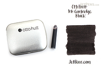 Ohto Hutt Black Ink - 14 Cartridges - OTTO HUTT HTC/61208/BK