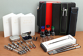 New Products: Palomino Blackwing 1138, Field Notes Snowblind, TWSBI Vac Mini Fountain Pens, Quiver Pen Holders, Otto Hutt Ink Cartridges, and More!
