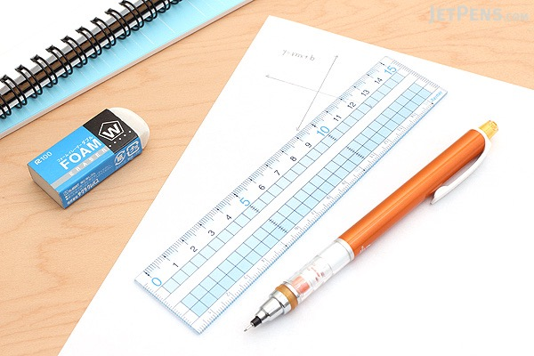Raymay Easy to See Grid Ruler - 15 cm - RAYMAY AJH158