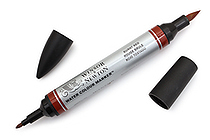Winsor & Newton Watercolor Marker - Burnt Red - WINSOR & NEWTON 0201061