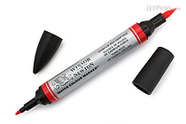 Winsor & Newton Watercolor Marker - Cadmium Red Deep Hue - WINSOR & NEWTON 0201098