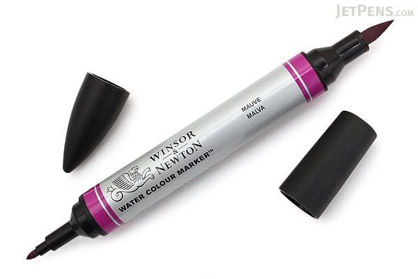 Winsor & Newton Watercolor Marker - Mauve - WINSOR & NEWTON 0201398