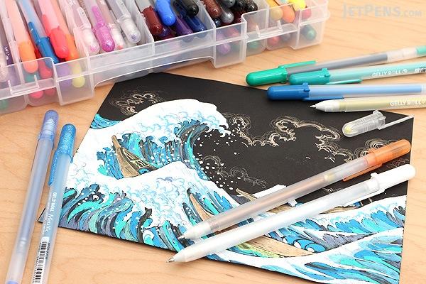 Sakura Gelly Roll Gel Pen - 74 Color Set - SAKURA 57361