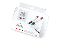 Winsor & Newton Watercolor Marker - 6 Color Set - WINSOR & NEWTON 0290002