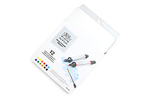 Winsor & Newton Watercolor Marker - 12 Color Set - WINSOR & NEWTON 0290001