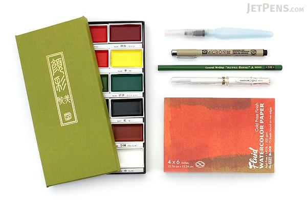 JetPens Watercolor Starter Kit - JETPENS JETPACK-028
