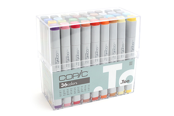Copic Marker - 36 Basic Color Set - COPIC CB36
