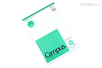 Kokuyo Campus Report Pad - A4 - Plain - 50 Sheets - KOKUYO RE-110W