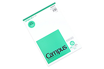 Kokuyo Campus Report Pad - A4 - Plain - 50 Sheets - KOKUYO RE-110WN