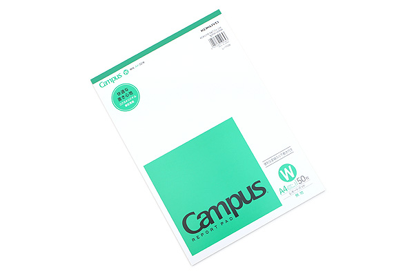 Kokuyo Campus Report Pad - A4 - Plain - 50 Sheets - KOKUYO RE-110WN