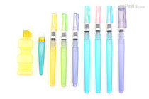 Kuretake Water Brush - 8 Sizes Bundle - JETPENS KURETAKE KG205 BUNDLE