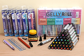 New Products: Winsor & Newton Watercolor Markers, DelGuard Mechanical Pencils, Kaimei Sumi Ink, Raymay Brush Pens, and More!