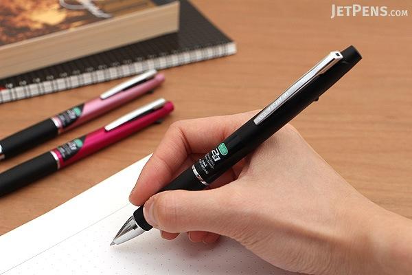 Uni Jetstream 2&1 2 Color 0.5 mm Ballpoint Multi Pen + 0.5 mm Pencil - Pink Body - UNI MSXE380005.13