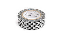 MT Patterns Washi Tape - Dot Black - 15 mm x 10 m - MT MT01D152Z