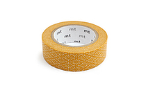 MT Patterns Washi Tape - Flower Crest Hanabishi Kiku (Chrysanthemum Yellow) - 15 mm x 10 m - MT MT01D280Z