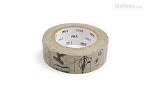 MT Olle Eksell Washi Tape - Olle's Notebook - 15 mm x 10 m - MT MTOLLE07Z