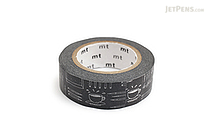 MT Olle Eksell Washi Tape - Work and Fika (Having Coffee) - 15 mm x 10 m - MT MTOLLE08Z