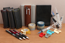 New Products: Uni Jetstream Multi Pens, Denik Stonepaper Pocket Notebook, MT Washi Tapes and Cutters, Quiver Pen Holders, Jacquard Syringes and Droppers, and More!