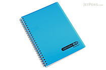 Maruman Sept Couleur Notebook - A5 - 7 mm Rule - Blue - MARUMAN N572B-02