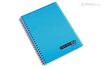 Maruman Sept Couleur Notebook - A5 - 7 mm Rule - Blue - MARUMAN N572B-02