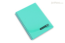 Maruman Sept Couleur Notebook - A5 - 7 mm Rule - Teal - MARUMAN N572B-52