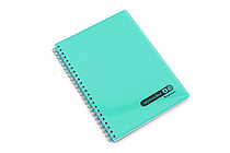 Maruman Sept Couleur Notebook - A5 - 7 mm Rule - Teal - MARUMAN N572-52