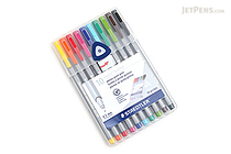 Staedtler Triplus Fineliner Pen - 0.3 mm - 10 Color Set - STAEDTLER 334 SB10A603