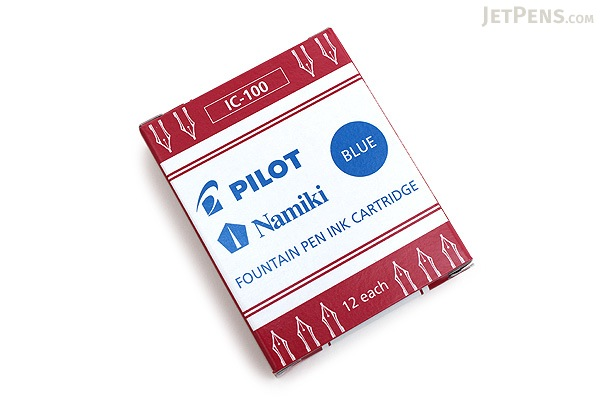Pilot Namiki Blue Ink - 12 Cartridges - PILOT IC100BLU