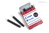 Pilot Namiki Blue Black Ink - 12 Cartridges - PILOT IC100BBK