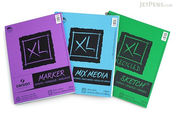 Canson Xl Mix Media Pad 9 Quot X 12 Quot Jetpens Com
