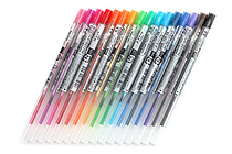 Uni Style Fit Gel Multi Pen Refill - 0.5 mm - 16 Color Bundle - JETPENS UNI UMR10905 BUNDLE