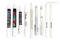 JetPens White Ink Pen Sampler - JETPENS JETPACK-012