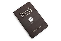 "Word Notebooks - Tasting Notes - 3.5"" x 5.5"" - Pack of 3 - Black - WORD NOTEBOOKS W-TASTINGBLK"